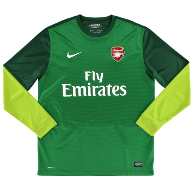 2012-13 Arsenal Goalkeeper Shirt L/S L