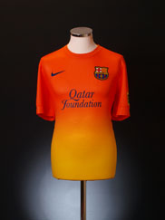 2012-13 Barcelona Away Shirt *BNWT*