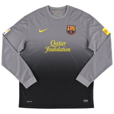 2012-13 Barcelona Goalkeeper Shirt L