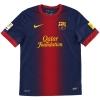 2012-13 Barcelona Home Shirt Fabregas #4 S