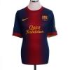 2012-13 Barcelona Home Shirt Messi #10 XL