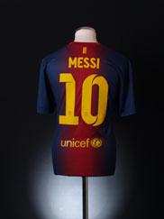 2012-13 Barcelona Home Shirt Messi #10 L
