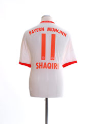 2012-13 Bayern Munich Away Shirt Shaqiri #11 L