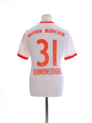 2012-13 Bayern Munich Away Shirt Schweinsteiger #31 Y