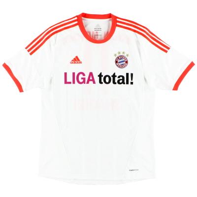 2012-13 Bayern Munich adidas Away Shirt XL