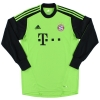 2012-13 Bayern Munich Goalkeeper Shirt Neuer #1 *Mint* M