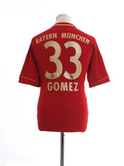 2011-13 Bayern Munich Home Shirt Gomez #33 M