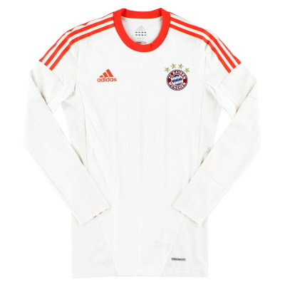 2012-13 Bayern Munich TechFit Away Shirt L/S L