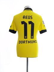 2012-13 Borussia Dortmund Home Shirt Reus #11 M
