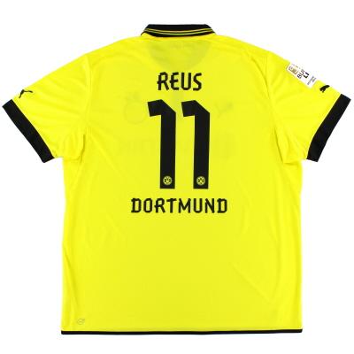 2012-13 Borussia Dortmund Home Shirt Reus #11 4XL