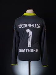 2012-13 Borussia Dortmund Match Issue GK Shirt Weidenfeller #1 XL