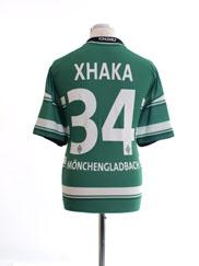 2012-13 Borussia Monchengladbach CL Shirt Xhaka #34 L