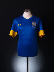 2012-13 Brazil Away Shirt *As New* M