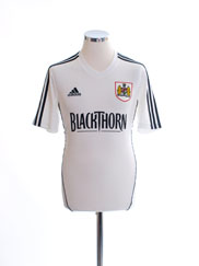 2012-13 Bristol City Away Shirt S
