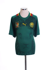 2012-13 Cameroon Home Shirt *Mint* XL