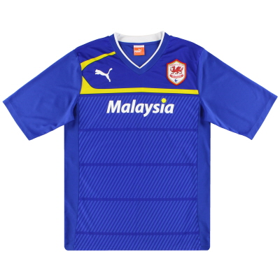 2012-13 Cardiff City Puma Away Shirt *Mint* L