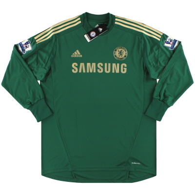 2012-13 Chelsea adidas Goalkeeper Shirt Cech #1 *w/tags* XL