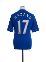 2012-13 Chelsea Home Shirt Hazard #17 S