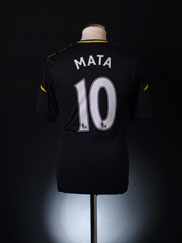 2012-13 Chelsea Third Shirt Mata #10 S