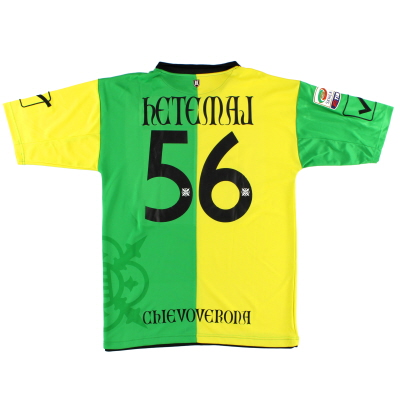 2012-13 Chievo Verona Third Shirt Hetemaj #56 XL