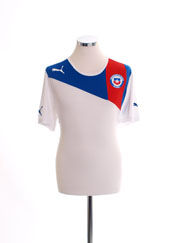 2012-13 Chile Away Shirt *Mint* L