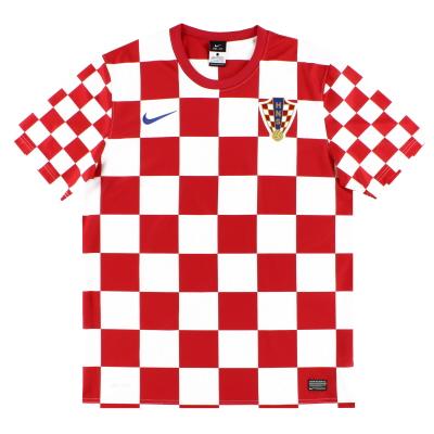 2012-13 Croatia Nike Basic Home Shirt XL.Boys