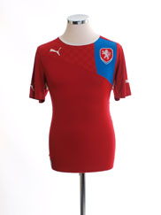 2012-13 Czech Republic Home Shirt M
