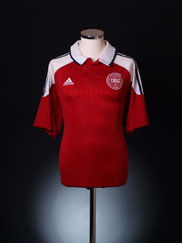2012-13 Denmark Home Shirt *BNIB* XL