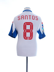 2012-13 Deportivo Third Shirt Santos #8 *w/tags* L