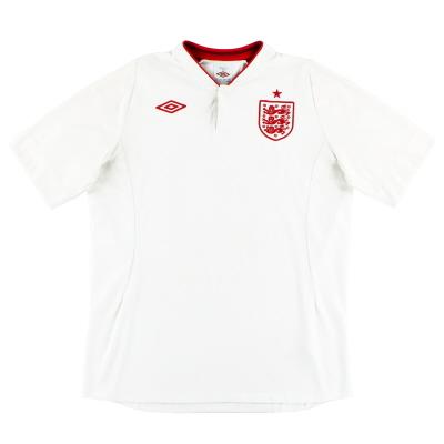 2012-13 England Umbro Home Shirt XXXL