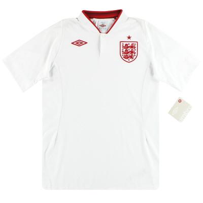 """2012-13 England Umbro Home Shirt *w/tags* (50"""") XXL"""