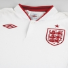 "2012-13 England Umbro Home Shirt *w/tags* (44"") L/S L"