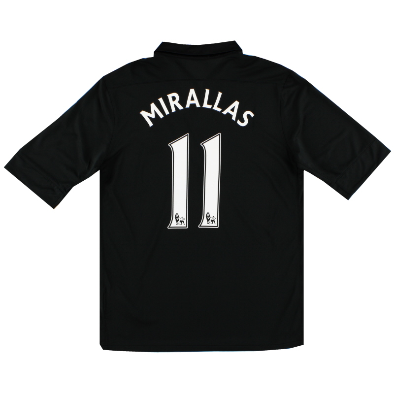 2012-13 Everton Away Shirt Mirallas #11 M