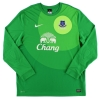 2012-13 Everton Goalkeeper Shirt Howard #24 XL