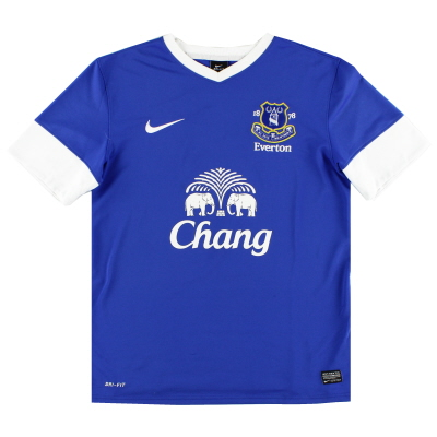 2012-13 Everton Home Shirt L