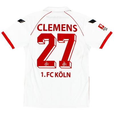 2012-13 FC Koln Home Shirt Clemens #27 M