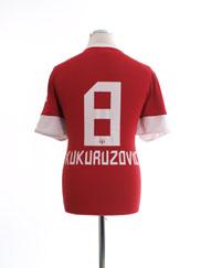 2012-13 FC Zurich Away Shirt Kukuruzovic #8 L