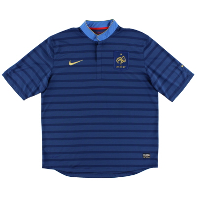 2012-13 France Home Shirt XL