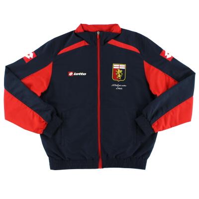2012-13 Genoa Lotto Woven Track Jacket S