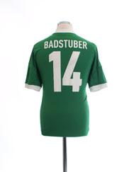 2012-13 Germany Away Shirt Badstuber #14 M