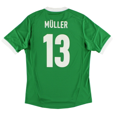 2012-13 Germany adidas Away Shirt Muller #13 *Mint* M