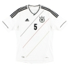 2012-13 Germany Home Shirt Hummels #5 M