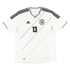 2012-13 Germany Home Shirt Muller #13 XXL