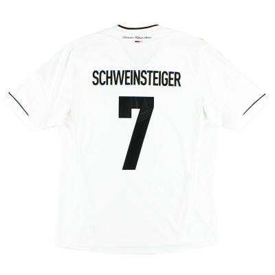 2012-13 Germany Home Shirt Schweinsteiger #7 *Mint* L