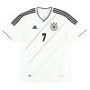 2012-13 Germany Home Shirt Schweinsteiger #7 *Mint* L