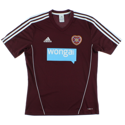 2012-13 Hearts Home Shirt M