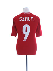 2012-13 Hungary Squad Home Shirt Szalai #9 *w/tags* M