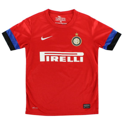 2012-13 Inter Milan Away Shirt M.Boys