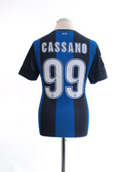 2012-13 Inter Milan Home Shirt Cassano #99 L