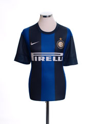 2012-13 Inter Milan Home Shirt M